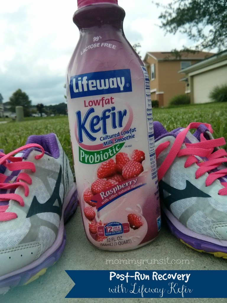 Post-Run Recovery with Lifeway Kefir | Mommy Runs It | #KefirCreations #shop #cbias