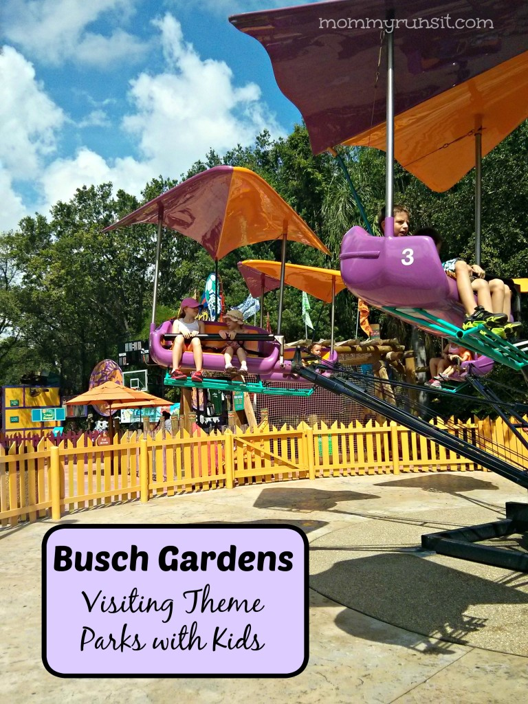 Visiting Theme Parks with Kids | Busch Gardens | Mommy Runs It #travel