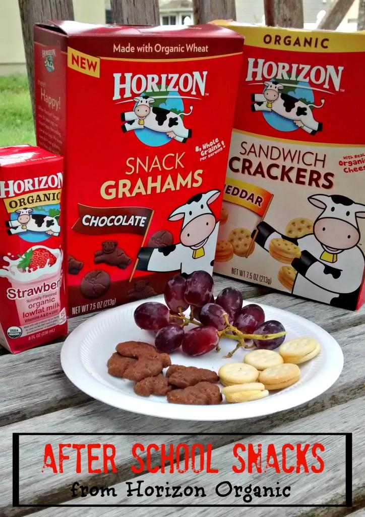 After School Snacks from Horizon Organic | Mommy Runs It #sponsored