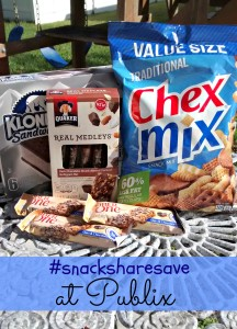 Grab-and-Go Snacks from Publix + PayPal #Giveaway #snacksharesave #ad