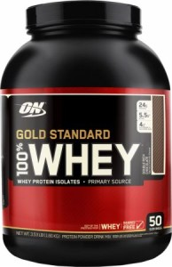 Optimum Nutrition Gold Standard Whey: Review + Giveaway
