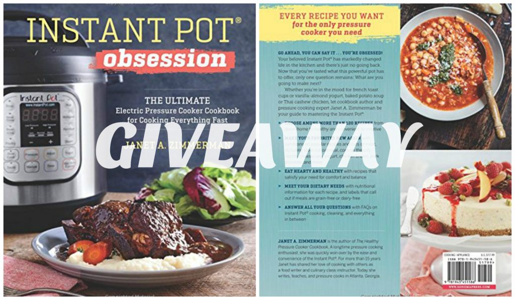Instant Pot Obsession: A Recipe Question + A Cookbook Giveaway {CLOSED}